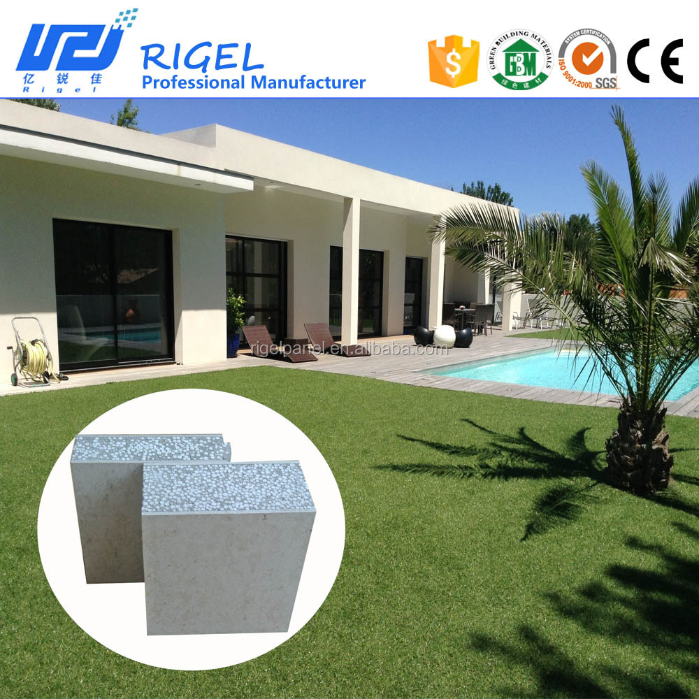 High Quality waterproof exterior wall siding panel prefabricated house for good price
