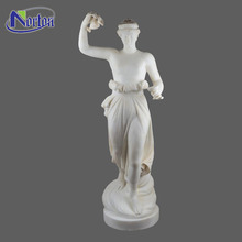 Square decor italian marble statues antique for sale NTBM-297A