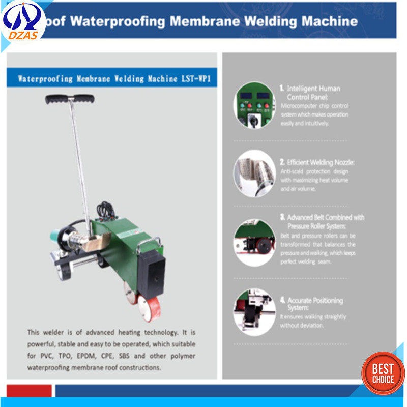 geomembrane liner hot wedge welding machine LST-WP1 price