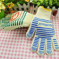 Beautiful Hot Sale high temperature Resistant Silicone Grilling rubber Glove for BBQ,Household,Kitchen