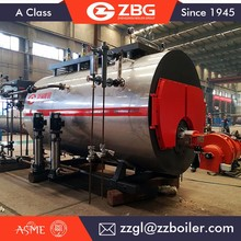 Automatic natural gas lpg diesel oil fired steam boiler prices