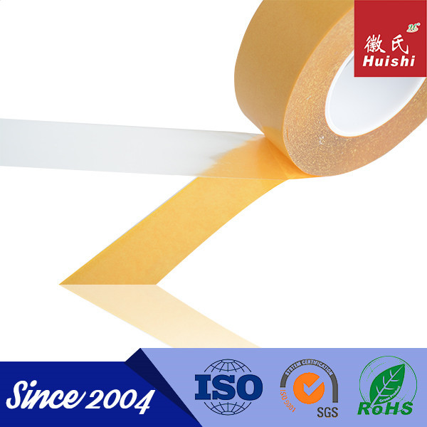 0.1mm Thickness High Bond Strength Double Sided PET Tape with Release paper