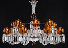 Hot sale new Luxury Baccarat style Chandelier with cut glass patterns