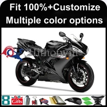 INJECTION MOLDING panels Matte Black fairings For yamaha 2004 2005 2006 YZFR1 ABS Plastic Fairing For yamaha YZF-R1 2004 2005 20