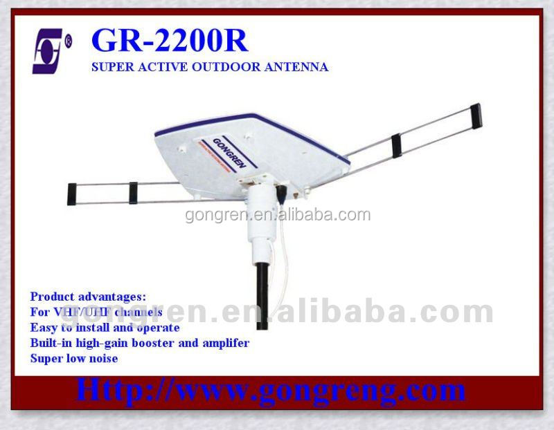 active antenna 360 degree rotatable aerial
