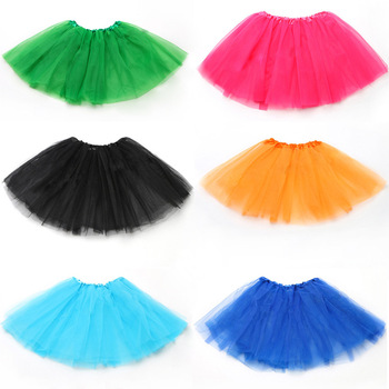 Direct Factory Wholesale Cute Coloful Cheap Ballet Dancing Tutu Skirt Girls