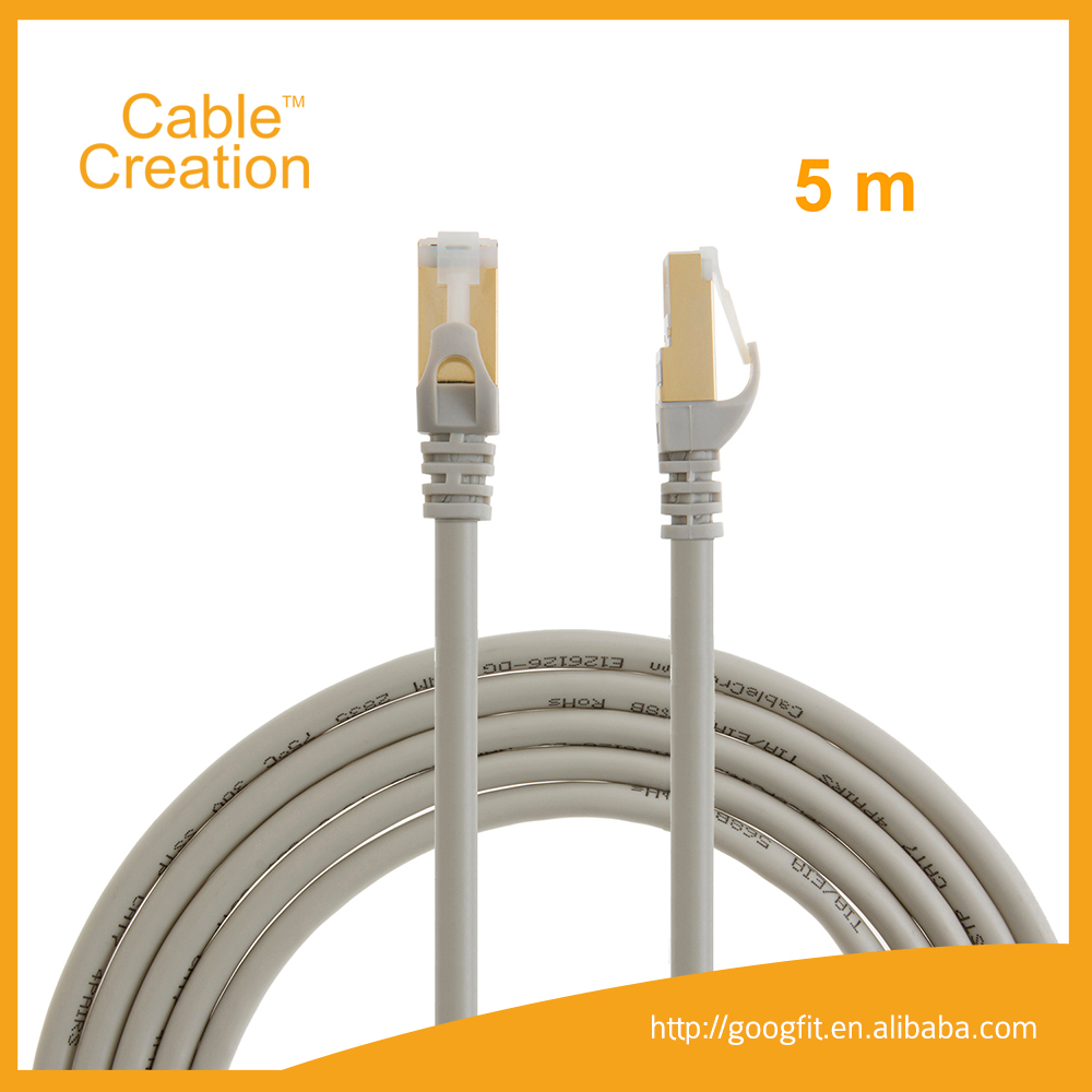10Gbps 5m Cat5/Cat6/Cat6a/Cat7 rj45 connect Jumper Cable Outdoor Belden Cable 1m 2m 5m AMP Cat6 Patch Cord Customization Length