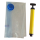 high quality clothes transparent vacuum storage bag with hand pump