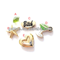 gold plating multiple hotsale charm lockets floating charms