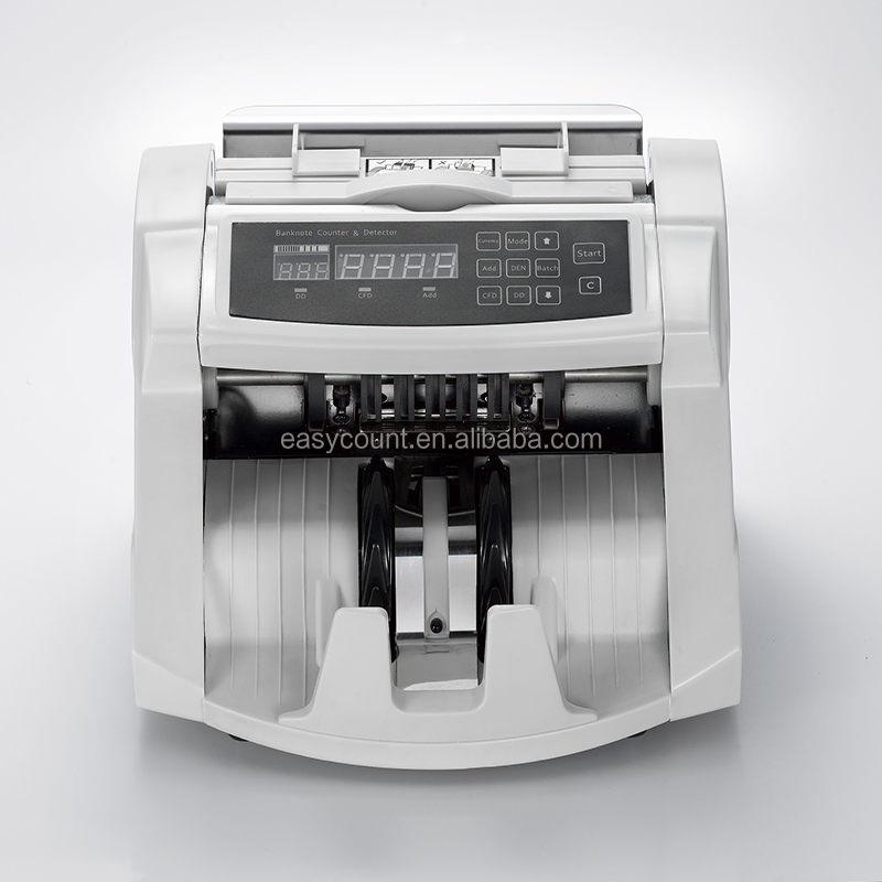 EC700 Bank note professional two pocket bill banknote sorter money counter and cash currency sorter