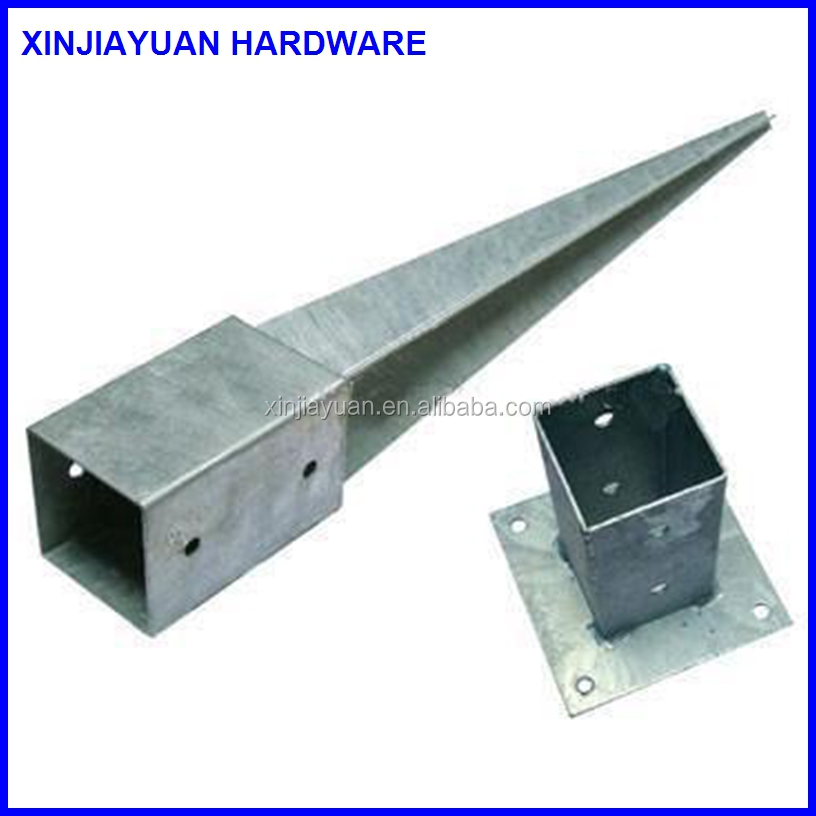 Q235 steelScrew pole / sand anchor / ground screw spike for buildings