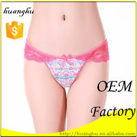 hot 95%cotton 5%spandex red little transparent sexy lovely teen girl underwear