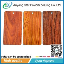 Wood Texture Interior Polyester Powder Paintings