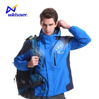Outdoor LED mens wholesale windbreaker jackets