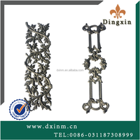 The cast iron gates decorations and garden fence designs used new style cast iron for sale