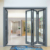 ROGENILAN 75 series Australia hot sale AS2047 standard exterior aluminum glass bathroom folding door
