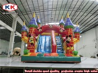 outdoor toys colorful inflatable slide for sale, commercial inflatable slide for kids