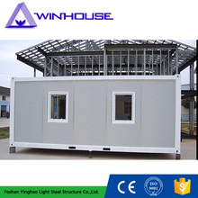 Temporary Modular Homes Bungalow Removable Cargo Container Cabin