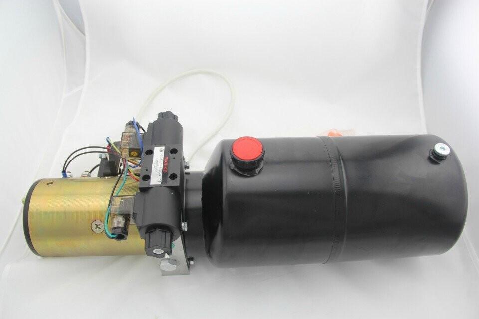 Hydraulic Power Unit 12 Volt Dc Motor For Mini Lifting Sj