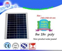 8w 18v cheap commercial polycrystalline solar panels for electricity