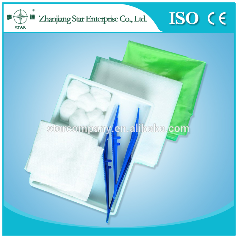 MEDICAL Basic wound Dressing Set