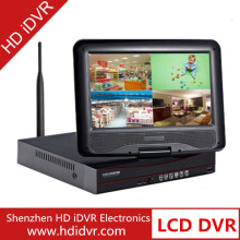 720p / 960p / 1080p HD all in one DVR with 12 volt LCD monitor dvr combo