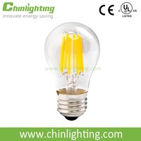 Direct sale price A47 A15 led edison led bulb 6w e26 e27 with CE ROHS UL LISTED