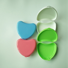 Colorful Dental Retainer Case/Denture Storage Box/Teeth Retainer