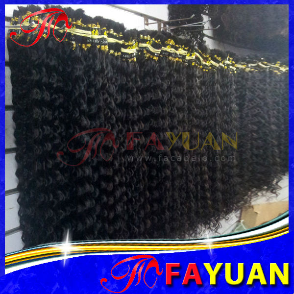 Guangzhou beauty exchange center premium quality guaranteed natural color virgin weft and bulk curly indian hair company