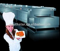 100% manufacturer supplier Arabic Bread tunnel production line oven with high quality