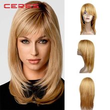 8A grade 100% Human Hair full lace silky straight long blonde girl wig