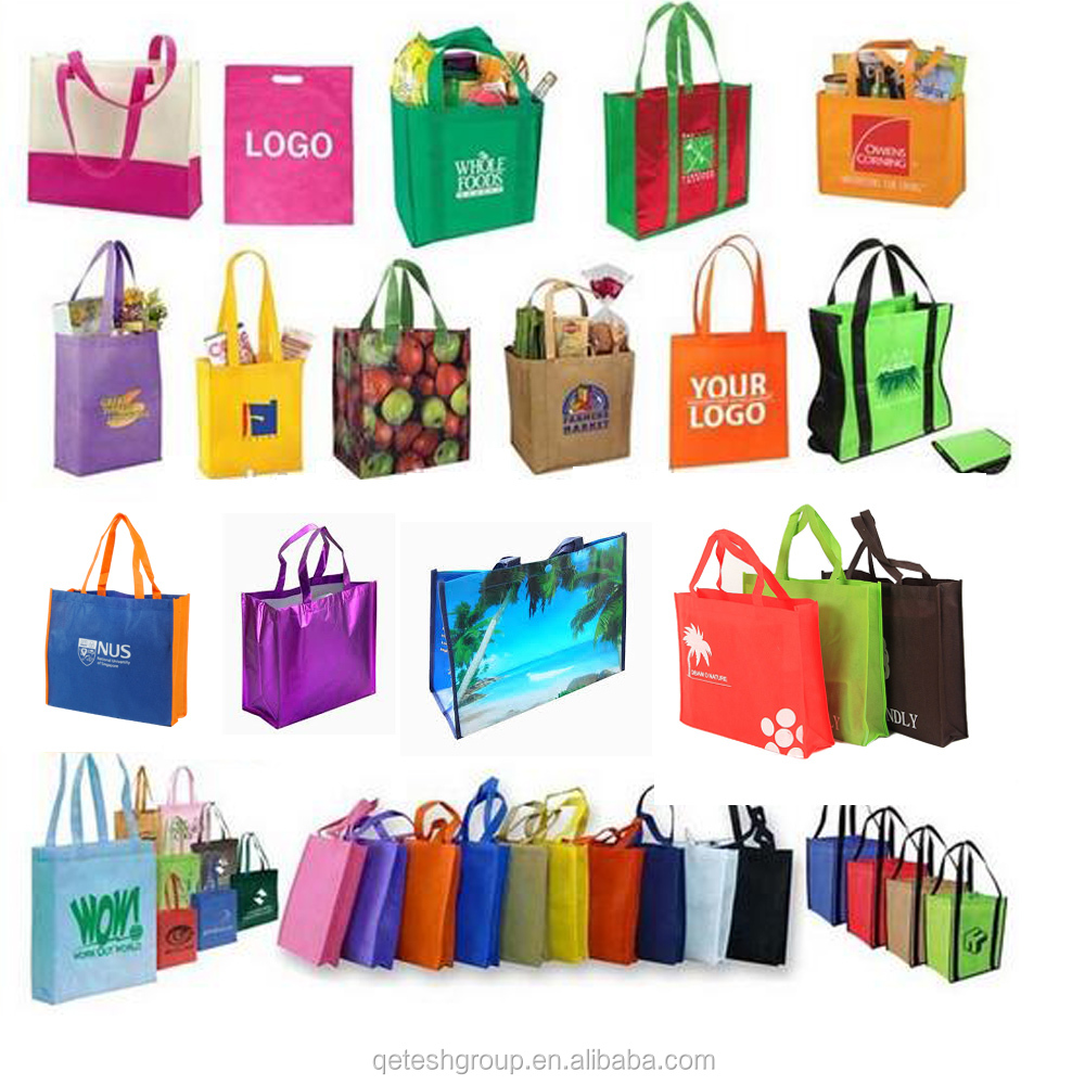 Wholesale Pictures Printing Non Woven Shopping Bag Made In China