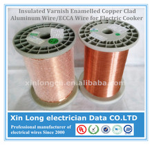 Insulated Varnish Enamelled Copper Clad Aluminum Wire/ECCA Wire for Electric Cooker