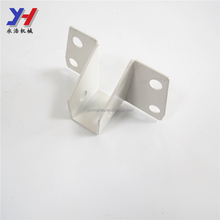 High quality OEM stamped metal u bracket for pipe support, Square pipe holder