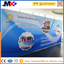 Top quality trade show display wall advertising tension pop up wall online shopping