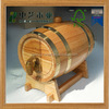 Eco-friendly year china factory FSC&SA8000 3L OAK gift wooden wine beer barrel