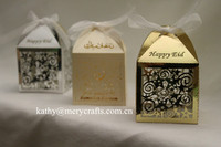 Laser Cut Gift Candy Boxes,Lovely Stars Wedding Party Favor,rustic favours candy box