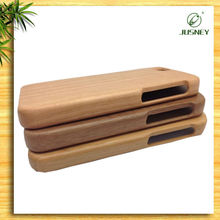 For iPhone 4/5/6 case full wood custom designs handmade nature wooden bamboo