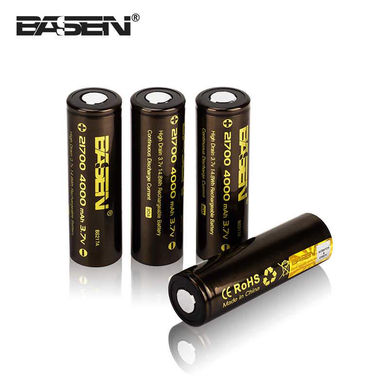 21700 4000mAh power 5C battery 3.7v lithium-ion electric car rechargeable battery for electric tools 21700 cell