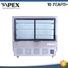 Cheap price custom 220V/50Hz display showcase refrigerator cake cooler with dixell digital controller