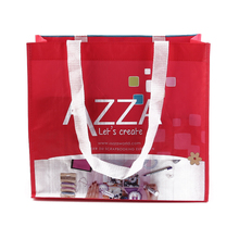 Wholesale PP Woven Custom Fabric Shopping Bag