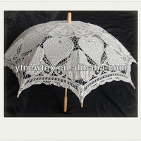 100 Cotton Cute Lace Umbrella Direct