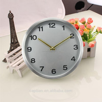 10 inch Classical design round shape wall clock for home decoration