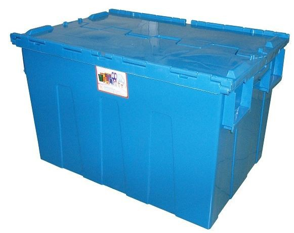 PLASTIC STACKABLE STORAGE BOX 5676