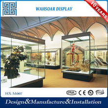 Factory Supply High Level Glass Museum display stand
