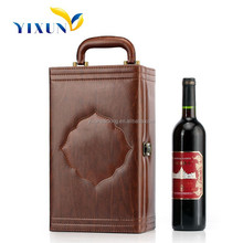 LEATHER WINE HOLDER, WINE CASE,LEATHER WINE BOX