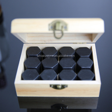 Customized gift set packing whiskey stones engraved