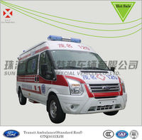 Ford Moblile medical vehicles,Electric hospital transport cart,China ambulance car