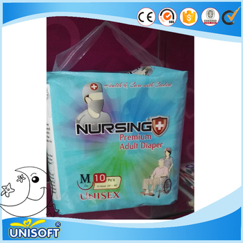 Disposable Adult Diaper Manufacturer For Elderly Old People Cheap Price Free Sample Hospital Senior Ultra Thick303