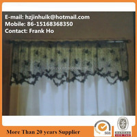Jaquard Spider Web with Bat Lace Kitchen Curtain